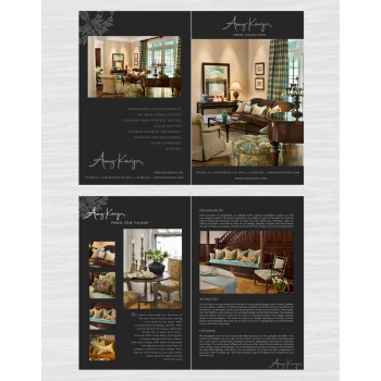 Portfolio Item By Double Take For Set Print Design Needed Interior Company Amy Karyn Inc