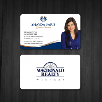 Business card design contests unique stationery design for Realty business cards