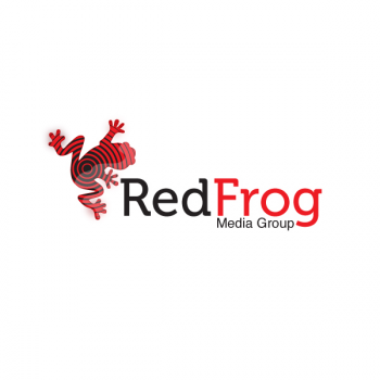 New logo by storm for Red-Frog-Media-Group1