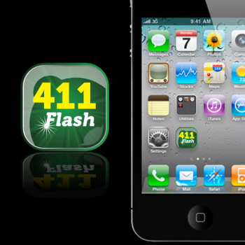 New logo by storm for 411Flash