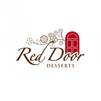 New logo by luna for Red-Door-Desserts1