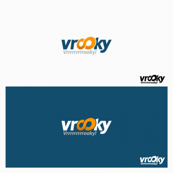 New logo by nomersiji for Vrooky