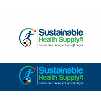 New logo by ArtKoBaleno for Sustainable-Health