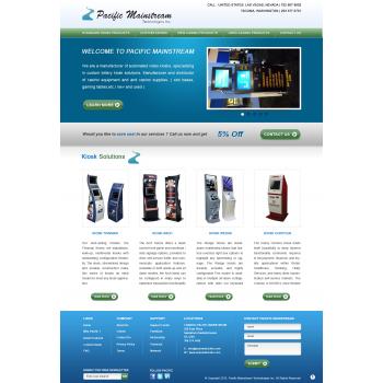 Portfolio Set For Sohil Obor (Keysoft): Fun Web Page Design For Mainstream  Pacific Technologies Inc.