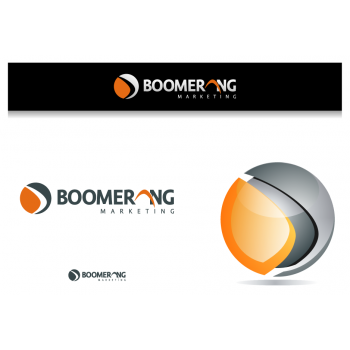 New logo by graphicleaf for boomerang-marketing
