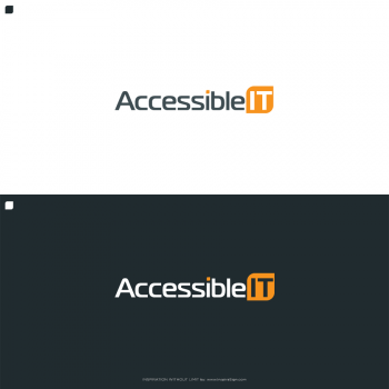 New logo by InspiraSign for accessible-it