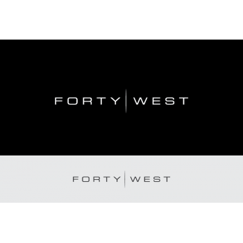 New logo by LogoLux for forty-west