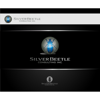New logo by graphicleaf for silver-beetle