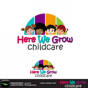 New logo by rockin for herewegrowchildca