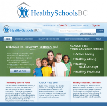 New logo by mjdesigns for healthyschoolsbc