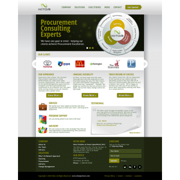 Great Web Page Design By Scorpy From India