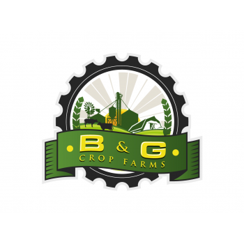 logo design contests artistic logo design for b g crop farms