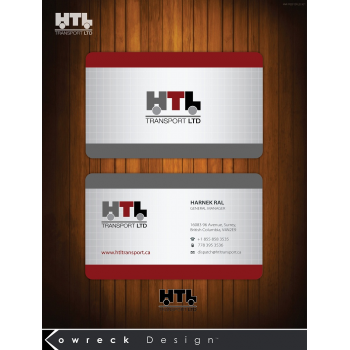 Business card design contests fun business card design for htl business card design 11 by kowreck colourmoves