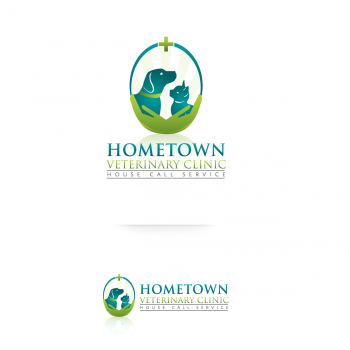 Logo design contests captivating logo design for hometown veterinary clinic design no 45 by - Home health care logo design ...
