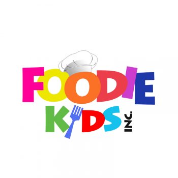 New logo by trebz for FoodieKidsInc