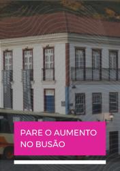 Chega de aumento no ônibus em Ouro Preto