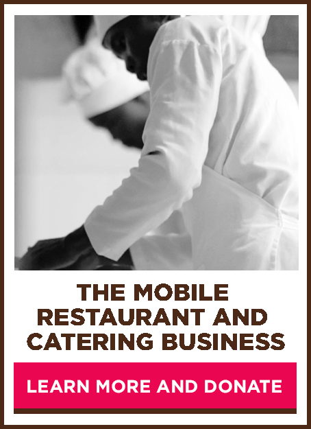 The mobile restaurant and catering business