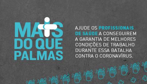Ajude os nossos heróis que estão precisando de #maisdoquepalmas