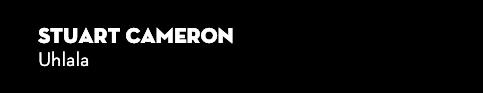 Stuart Cameron, Uhlala