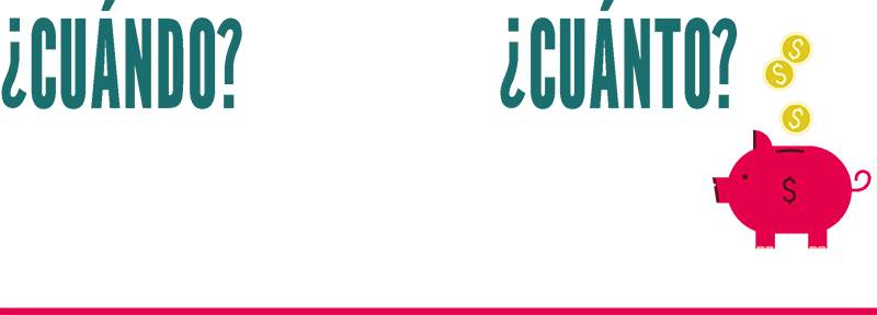 ¿Cuándo? Del 4 de septiembre al 16 de octubre de 2021. Los sábados, de 10:00 am a 12:30 pm (hora de Ciudad de México)   ¿Cuánto? ¡Nada! El programa es gratuito.