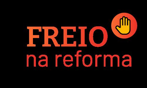 Site da campanha Freio na Reforma