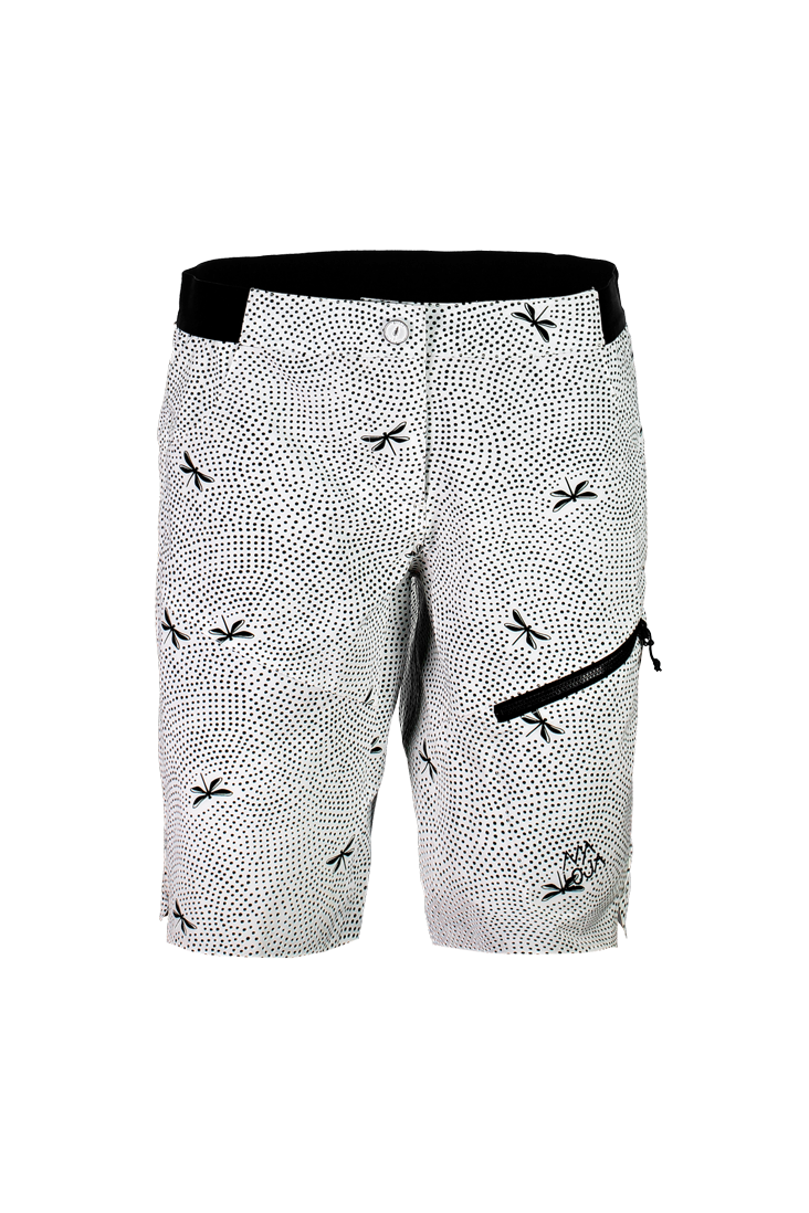 3da07176a FridaM. -  strong Bike and multisport shorts with special print and high  freedom of movement  strong  br  br Details  br - fast drying br - 4-way ...