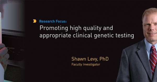 Shawn Levy, PhD – HudsonAlpha Institute for Biotechnology