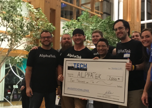 Team AlphaTek wins 'Best in Show' at HudsonAlpha Tech Challenge