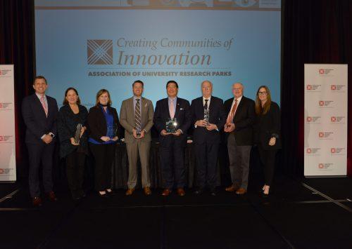 HudsonAlpha receives Innovation Award at international research park conference