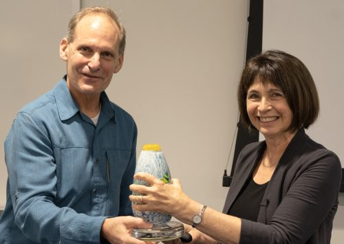 HudsonAlpha presents Sue Wessler with Life Sciences Prize