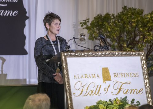 Lonnie McMillian inducted into Alabama Business Hall of Fame