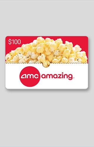 Tirage de cartes-cadeaux de 100$ AMC