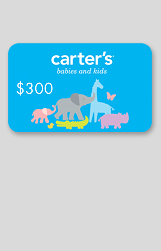 $300 Carter's Gift Card Sweepstakes