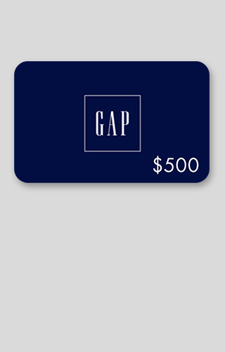 $500 Gap Gift Card Sweepstakes