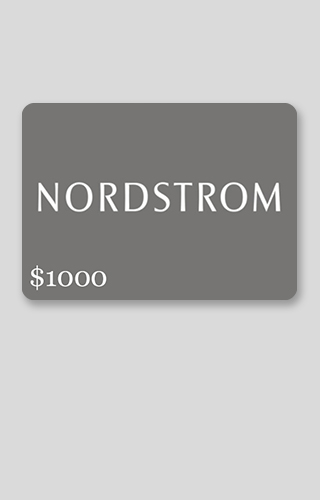 $1000 Nordstrom Shopping Spree