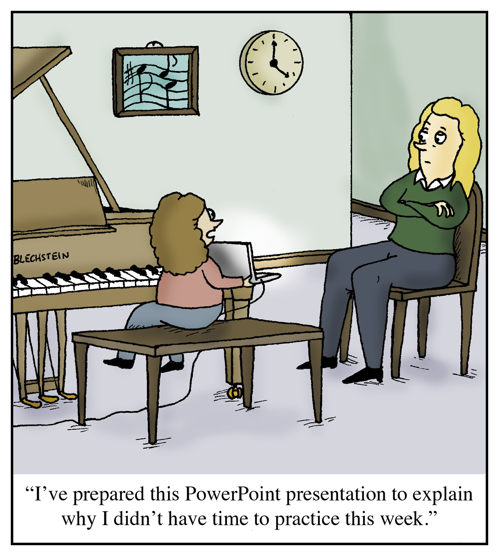 Cartoon Quot I Ve Prepared This Powerpoint Presentation To