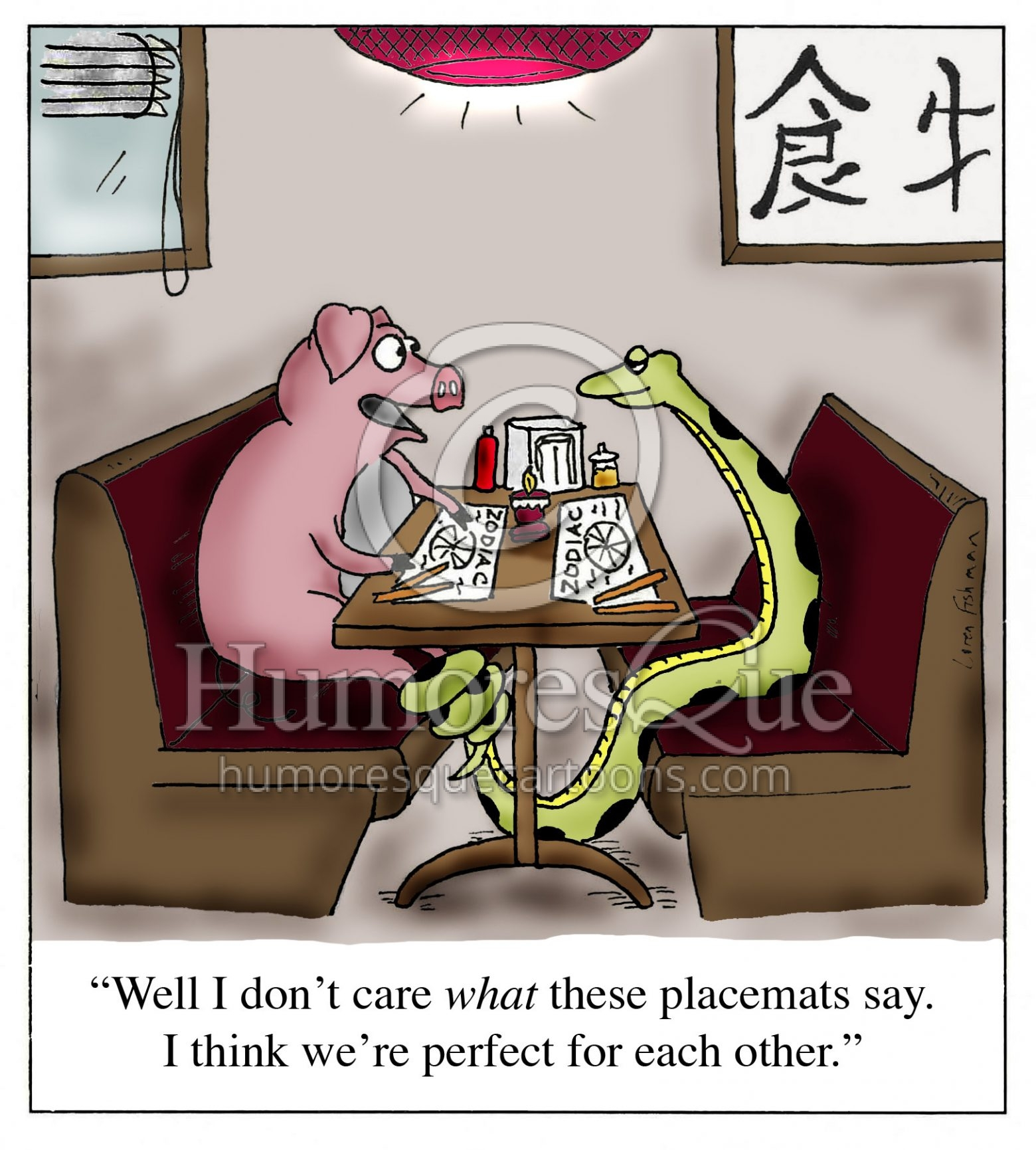 pig and snake eating in chinese resaurat zodiac dating cartoon