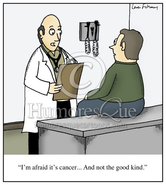 good kind of cancer oncology cartoon
