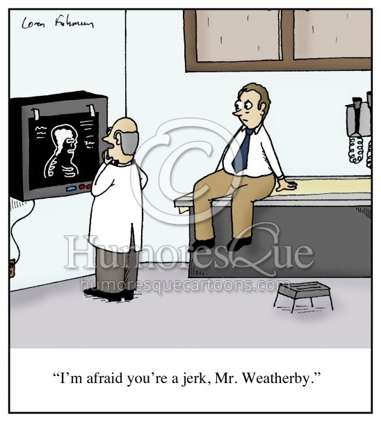 jerk diagnosis cartoon