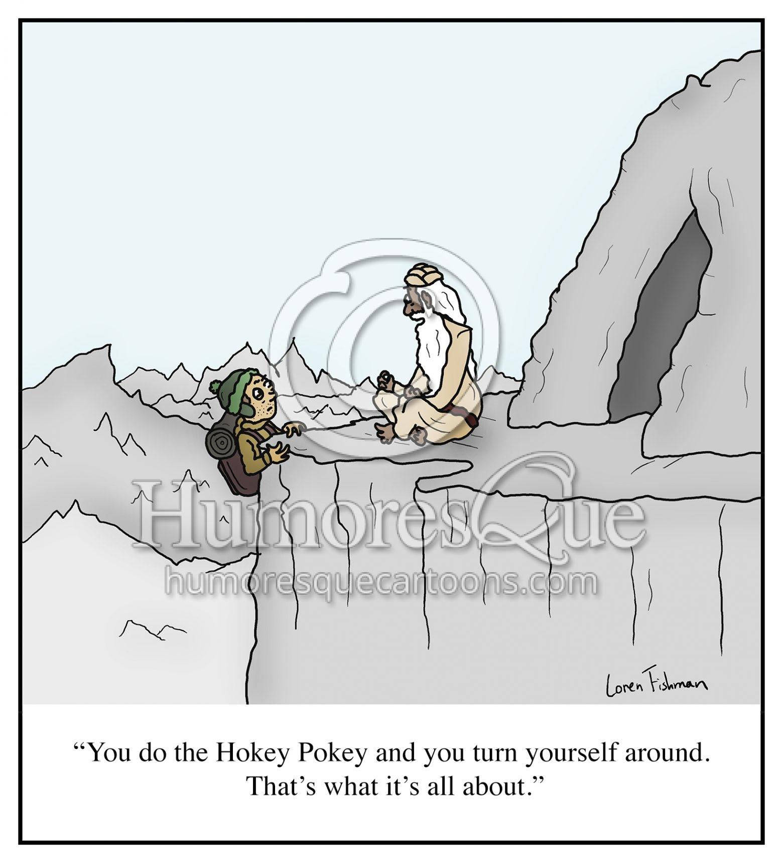 hokey pokey childrens song funny guru cartoon