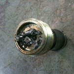 Metal chucks in a vw transmission problems