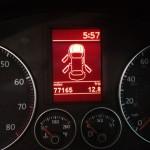 MFI display in VW EOS