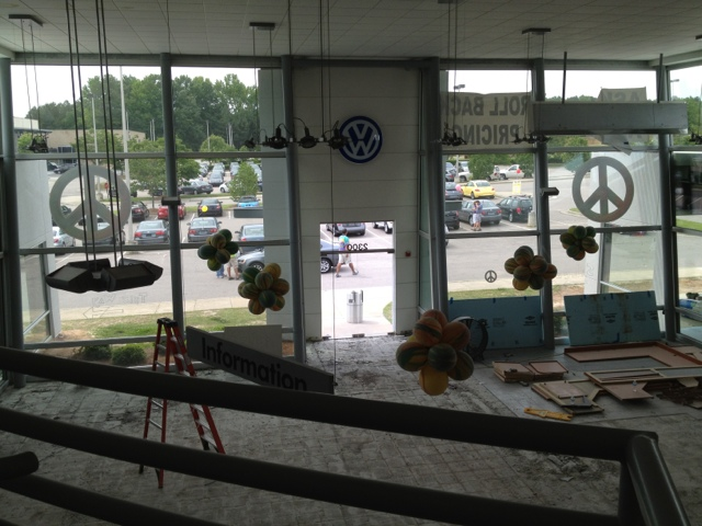Volkswagen Showroom Remodel