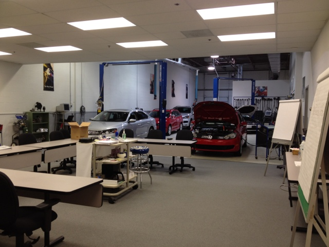 VW mechanic training center