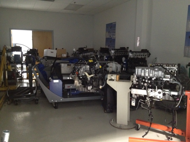 Volkswagen Mechanic Training Engine Room