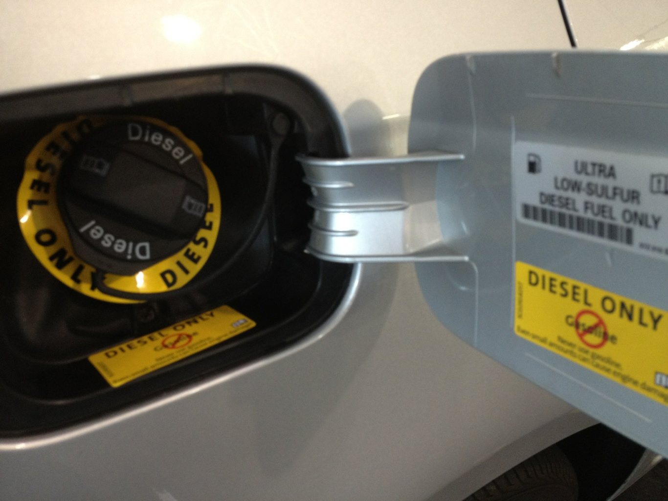 New VW TDI recall