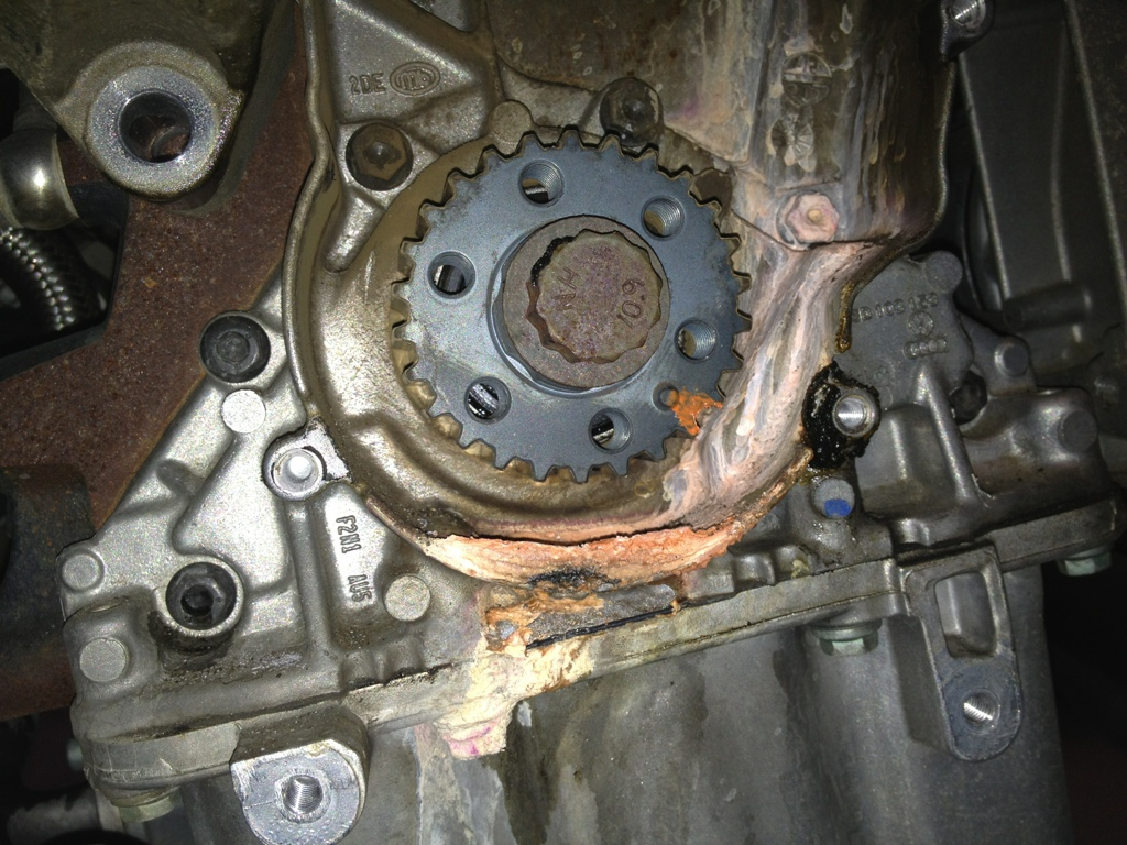 Shop Shots VW Coolant Leak