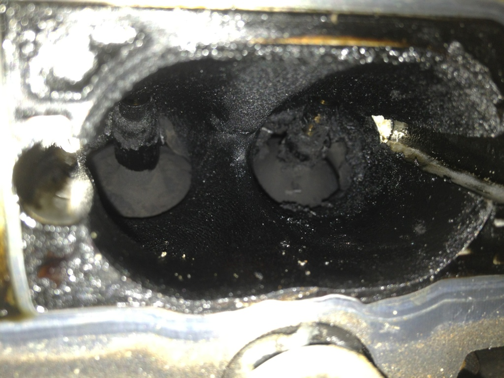 Carbon build up in VW engine