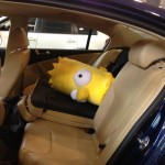 Driving Bart Simpson