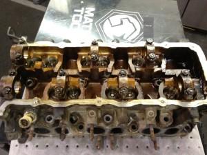 Volkswagen Cabriolet VR6 engine